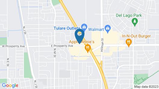 La Quinta Inn & Suites by Wyndham Tulare Map