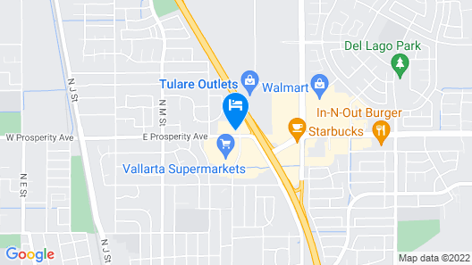 La Quinta Inn & Suites by Wyndham Tulare Map