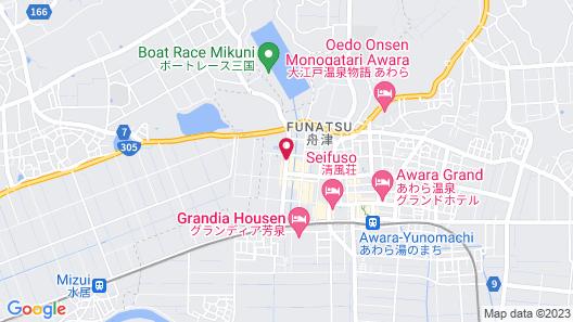 Hokuriku Awara Onsen Mimatsu Map