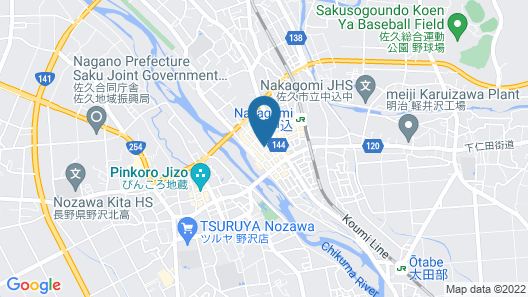 Kashiwaya Ryokan Guesthouse&Sharedhouse Map