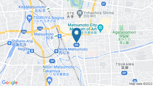 MATSUMOTO TOURIST HOTEL Map