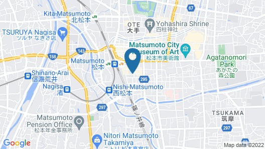 Hotel M Matsumoto Map