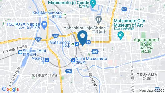 Ace Inn Matsumoto Map
