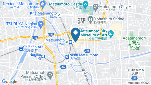 Premier Hotel-CABIN-Matsumoto Map