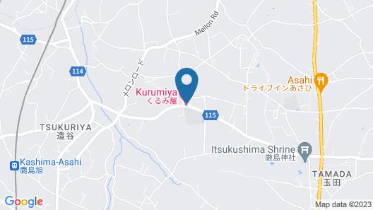 Ryokan Kurumiya Map