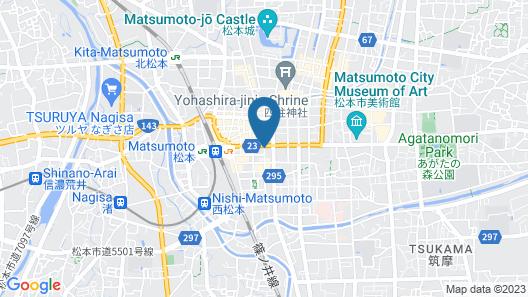 Dormy Inn Matsumoto Natural Hot Spring Map