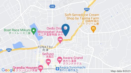 Yukai Resort Seiunkaku Map