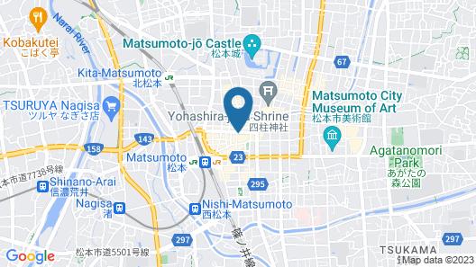 Richmond Hotel Matsumoto Map