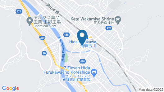 IORI STAY HIDA Map