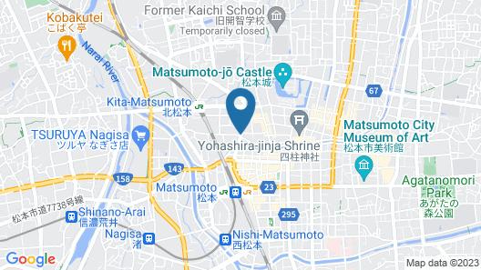 Hotel Trend Matsumoto Map