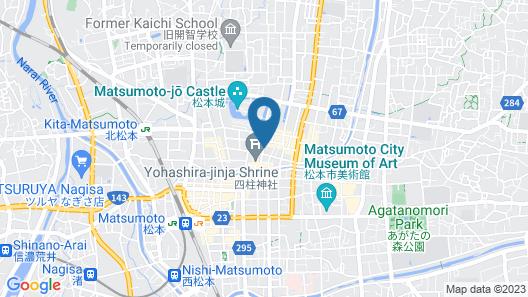 Southern Cross Inn Matsumoto Map