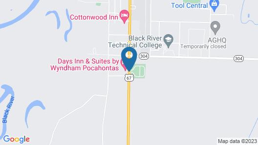 Days Inn & Suites by Wyndham Pocahontas Map