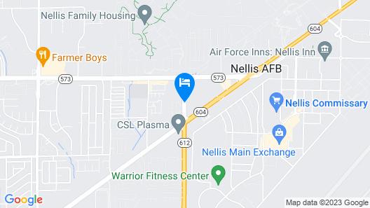 La Quinta Inn by Wyndham Las Vegas Nellis Map