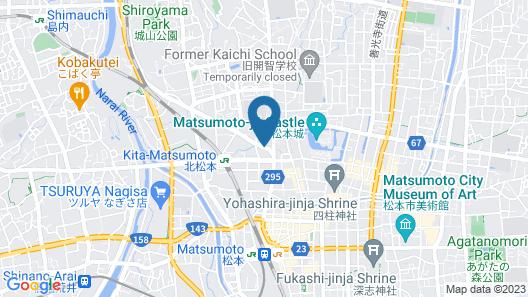 Matsumoto Guesthouse Tabi-shiro - Hostel Map