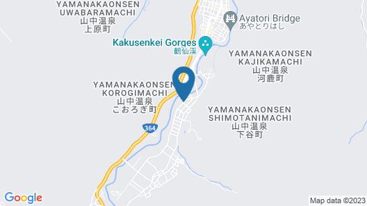 Yamanaka Onsen Ohanami Kyubei Map