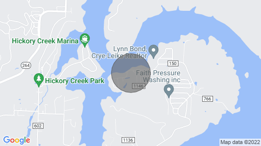 Great Place by the Lake, Swim, Boat, and Fish Water Short Walk Map
