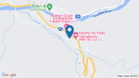 Chohsaku No Yado Nakadaya Map