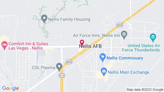 Aviation Inn Map