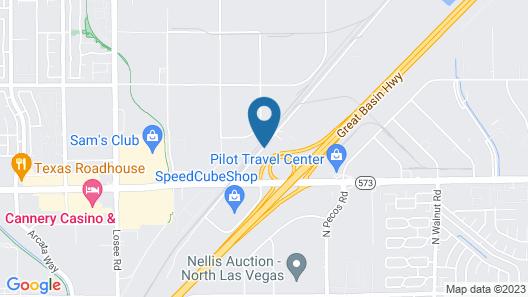 Best Western Plus North Las Vegas Inn & Suites Map