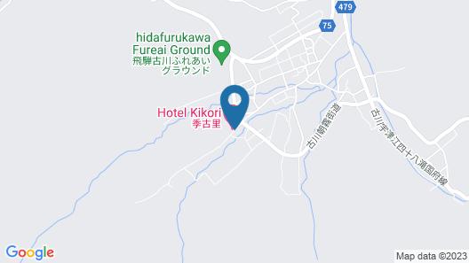 Hotel Kikori Map