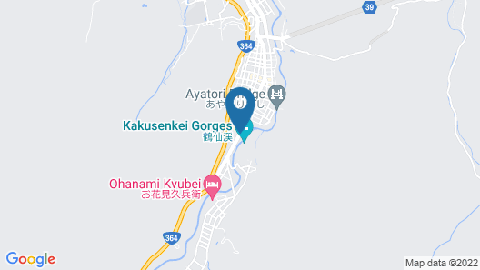 Yukai Resort Yoshinoya Irokuen Map