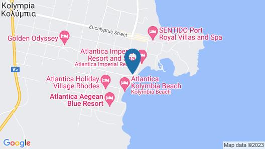 Lutania Beach Hotel Map