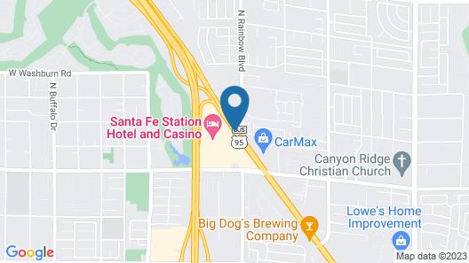 Santa Fe Station Hotel & Casino Map