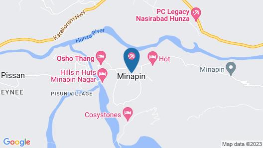Hotel Cherry Garden Minapin Nagar Map