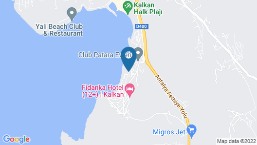 Hotel Villa Mahal - Adults Only Map