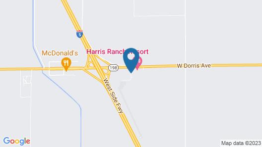 Harris Ranch Inn Map
