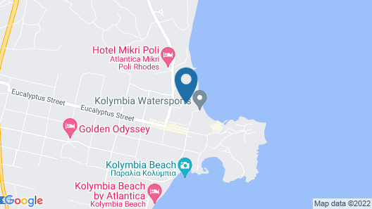 Irene Palace Beach Resort Map