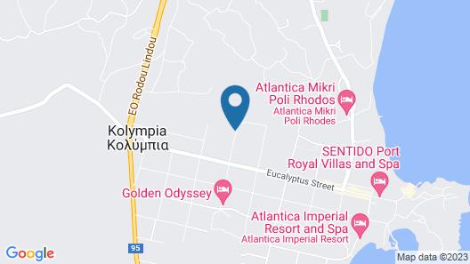 Fantasy Hotel Map