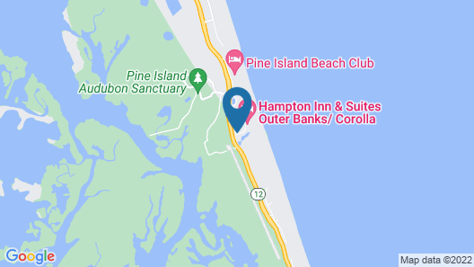 Hampton Inn & Suites Outer Banks-Corolla Map