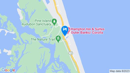 Hampton Inn & Suites Outer Banks-Corolla Map