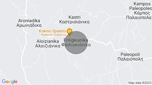 Kythira Island Escape-away Map