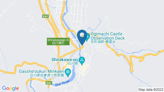 Japanese-style Hotel Shiroyamakan Map