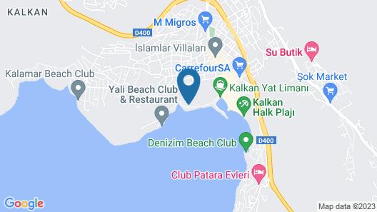 Likya Pavilion Hotel Map