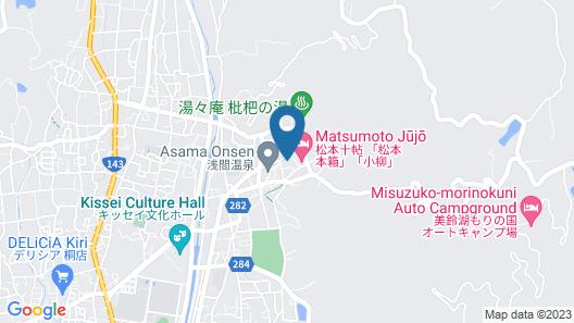 Hostel & Spa FAN! MATSUMOTO Map