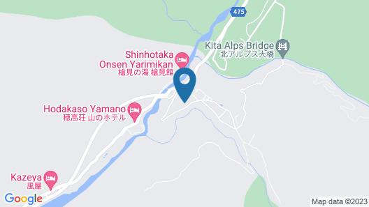 Nakaokogen Hotel Kazaguruma Map