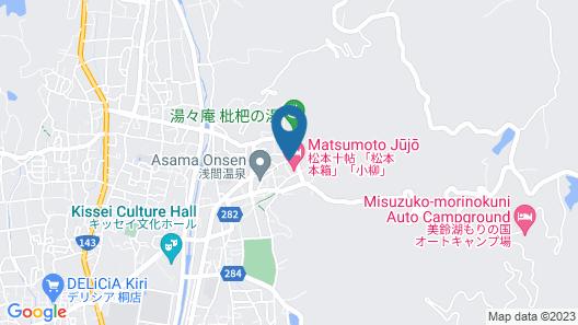 onsen hotel Omoto Map