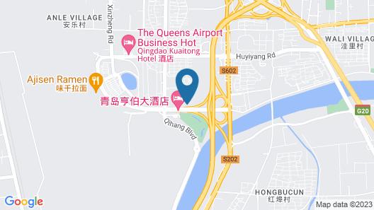 Pullman Qingdao Ziyue Map