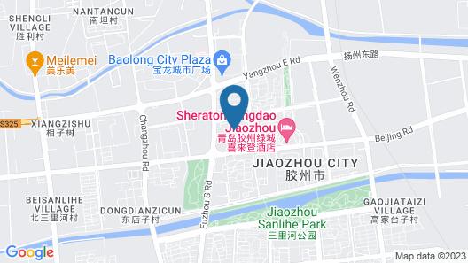 Sheraton Qingdao Jiaozhou Hotel Map
