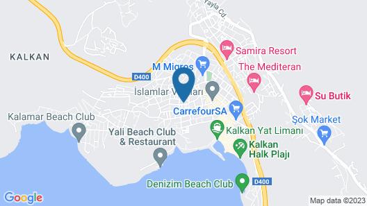 Villa Lycian City Map