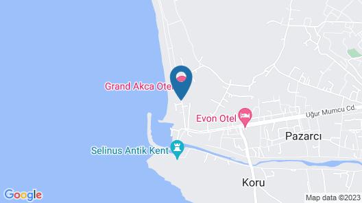Selinus Beach Club Hotel Map