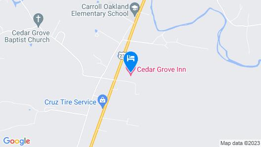 Cedar Grove Inn Map