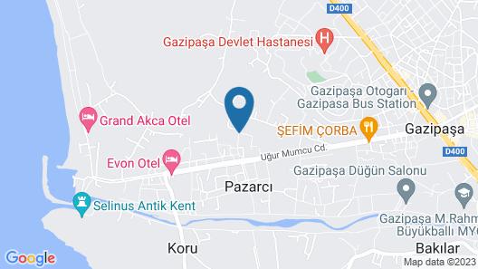 Nil Apart Otel Map