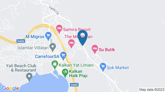 Villa Primavera Map