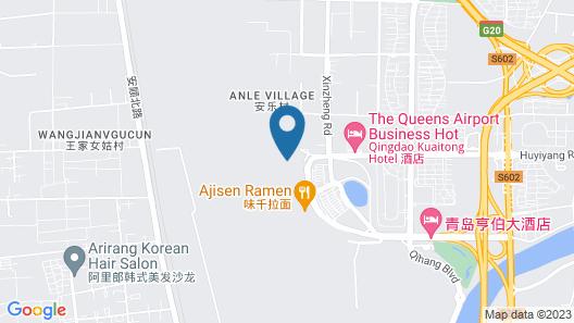 Qingdao Airport Hotel Map