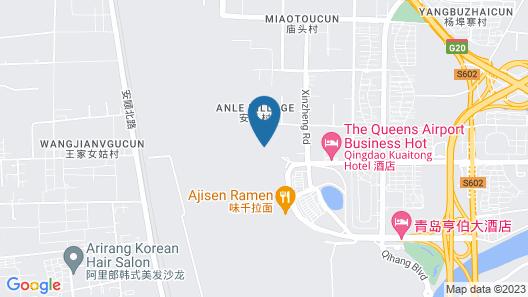 Qingdao QIU LIN Airport Hotel Map