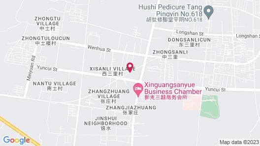 GreenTree Inn Jinan Pingyin Industrial Park Express Hotel Map